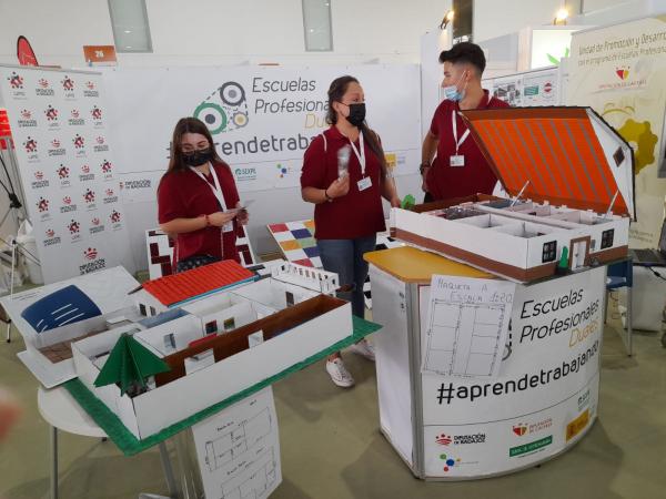 La Diputación de Badajoz presente en la FERIAD'IP 2020+1